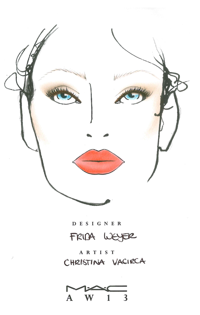 GET THE MODEL LOOK // MAC COSMETICS FÜR FRIDA WEYER