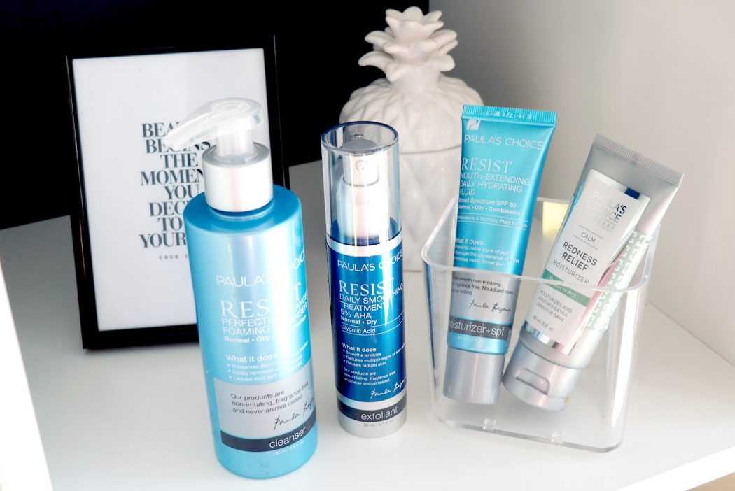 MY DAILY SKINCARE WITH PAULA'S CHOICE