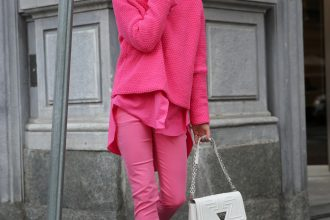 FASHION // PINK-All-OVER IM HERBST (WERBUNG / AD)