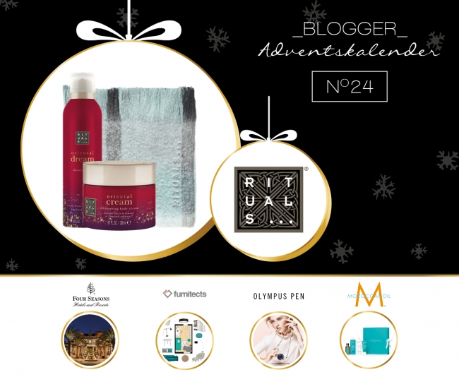 BLOGGER ADVENTSKALENDER TÜRCHEN 24 // RITUALS